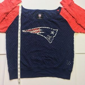NFL Tops - New England Patriots Women's Long Sleeve Top (XL)